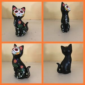 Dia de los Muertos (Halloween) black cat.